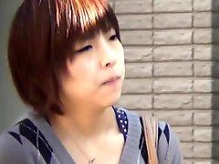 Asian teen public urines