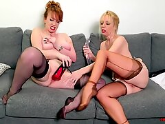 Red XXX and Lucy Gresty get Freaky with a Double-sided Dildo